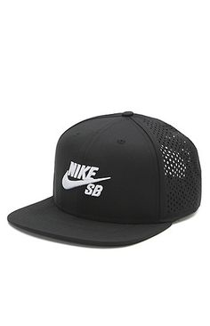 PacSun presents the Nike SB Performance Trucker Hat. This unique cap comes with a raised Nike SB logo sewn on front of a solid color base. Nike SB logo on front Raised embroidery Stiffened front Mesh back Adjustable snapback with logo loop Flat bill One size fits most Spot clean 100% polyester Imported