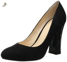Cole Haan Women's Chelsea High Flared Heel Pump,Black Suede,7.5 B US - Cole haan pumps for women (*Amazon Partner-Link)