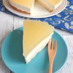 Low Carb, Sugar Free, Gluten Free - Lemon Jello Cheesecake