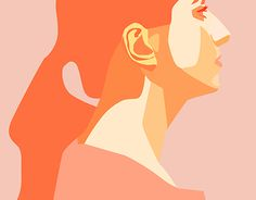 """Check out new work on my @Behance portfolio: """"Half face"""" http://be.net/gallery/46782269/Half-face"""