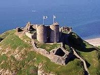 Criccieth Castle - castles and castellated mansions of Snowdonia