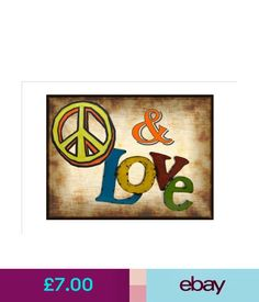 Plaques & Signs Funny Kitchen Sign Bar Room Sign Pub Sign House Peace & Love Sign #ebay #Home & Garden