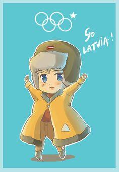 Sochi 2014 Latvia by Oprisnyashka