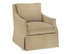 "Shop for Bernhardt Reagan Swivel Chair, B4412S, and other Living Room Chairs at Hickory Furniture Mart in Hickory, NC. Fabric Shown: 1359-025. Pillows: (1) Fiber Back pillow - knife edge weltless. Between Arms: 22"" (55.88 cm). COM Yardage: 7.3. Construction: Sinuous Spring."