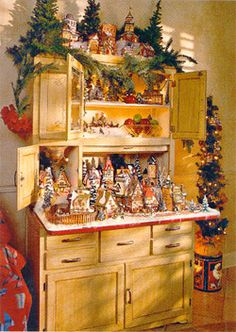 Department 56: DECORATING - Southern Living  Our very own Linda Gibson's village was displayed in Southern Living magazine!