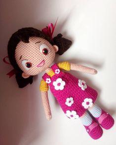 Niloyamm 😍 iki niloya iki tosbik daha beni bekler 😆🙋. . . . #amigurumi #amiguruminiloya #kesfetteyim1099 #tren137 #kesfetteyim1505 #insta4sn Crochet Toys Patterns, Amigurumi Patterns, Stuffed Toys Patterns, Pet Toys, Doll Toys, Baby Toys, Crochet Doll Clothes, Crochet Dolls, Amigurumi Doll