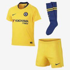 ed86ef6ef 2018 19 Chelsea FC Stadium Away Little Kids  Soccer Kit  comfort Benefits