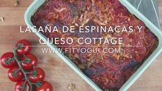 Video paso a paso de lasaña de espinacas y queso cottage fácil