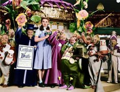 """""""♫Ding Dong the Witch is Dead♫"""" - The Munchkins (The Singer's Midgets) in The Wizard of Oz 1939."""