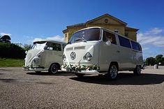 Planning a wedding in Basildon? Why not go for an unusual wedding car, and hire our VW wedding camper.