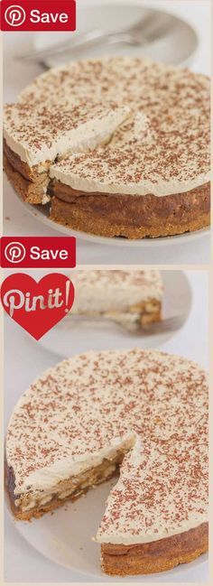 DIY Tiramisu Cheesecake - Ingredients  Refrigerated  4 Eggs  Baking & Spices  125 g Brown sugar soft light  10 g Dark chocolate  3 tbsp Granulated sugar  2 tbsp Vanilla extract  Snacks  200 g Digestive biscuits or graham crackers reduced fat  Drinks  6 tbsp Espresso  Dairy  75 g Butter  400 g Cream cheese reduced fat soft  300 ml Double cream reduced fat  125 g Lighter mascarpone  Liquids  125 ml Water hot  Other  18  20 sponge fingers #delicious #diy #Easy #food #love #recipe #recipes…