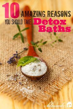 10 Amazing Reasons You Should Take Detox Baths