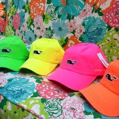 Pink Bee| Vineyard Vines | Neon Ball Caps $28 #vineyardvines Vineyard Vines Hat, Vinyard Vines, Preppy Southern, Southern Girls, Southern Belle, Southern Prep, Orange Hats, Preppy Girl, Prep Style