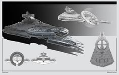 And the second one from the RIDE phase of the ILM Art Department ChallengeThat was fun. Star Wars Fan Art, Star Wars Droiden, Star Wars Concept Art, Star Wars Ships, Space Ship Concept Art, Star Wars Characters Pictures, Star Wars Spaceships, Starship Concept, Star Wars Vehicles