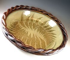 Decorative Ceramic Bowls Large Pottery Serving Bowl Decorative Ceramicbotanic2Ceramic