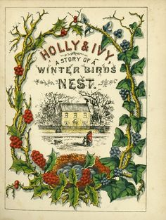 Vintage The Holly & Ivy, c.1871