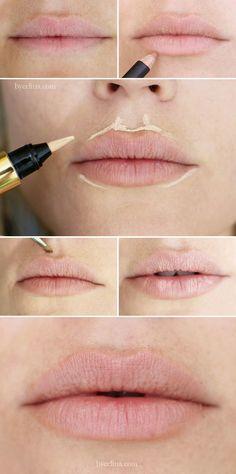 Sam Patterson x samjpat x Fuller lips trick- easy enough: