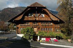 Landgasthof Hirschen in Matten bei Interlaken, Switzerland
