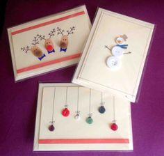Handmade Christmas Cards, £1.25
