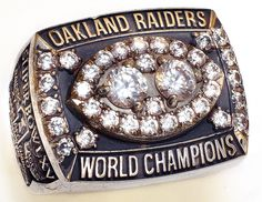 Oakland's second ring came in Super Bowl XV. The first EVER wild card team to win a Super Bowl defeated the heavily favored Philadelphia Eagles in the Big Easy, New Orleans, LA. Oakland Raiders Super Bowl, Oakland Raiders Football, Nfl Denver Broncos, Pittsburgh Steelers, Dallas Cowboys, Raiders Players, Super Bowl Rings, Raiders Baby, Nfl History