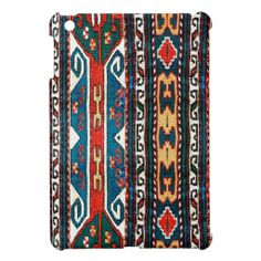 Traditional Fabric Abstract Pattern iPad Mini Case