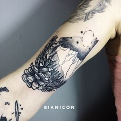 #bianicon #tattoos #black #forest
