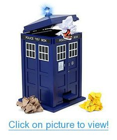 Doctor Who TARDIS Wastebin Home #Office #Geeky #Office #Supplies