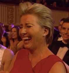 She never cracks under pressure.   20 Facts That Prove Emma Thompson Should Be The Queen Of Everything