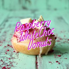 Try out this raspberry-filled white chocolate donut.