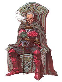 Ganossa from Valkyrie Anatomia: The Origin #illustration #artwork #gaming #videogames #gamer