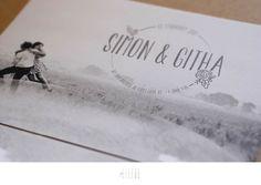 simon + githa || wedding invite || geliefde studio Invite, Wedding Invitations, Stationery, Love, Studio, Movie Posters, Amor, Stationery Shop, Paper Mill
