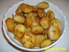 Gatesc pentru cei dragi: Cartofi rumeniti la cuptor