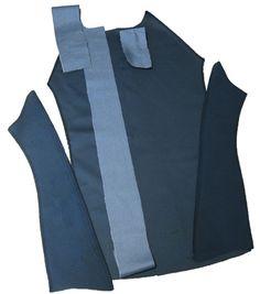 Super Anleitung für Reißverschlussjacke mit Zipperschutz und Beleg!