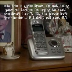 Mrs. Brown's Boys TV Show-i had a similar message on my fone many years ago!-TLP