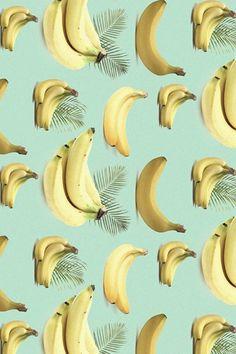 bananas pattern picture // bananes