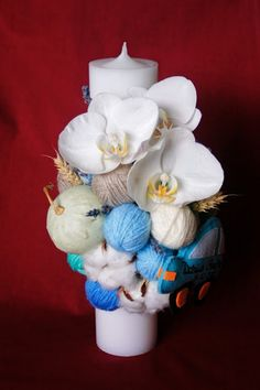 Baby Boom, Holidays And Events, Christening, Bouquet, Baby Shower, Sweet, Flowers, Handmade, Wedding