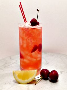 Cherry Lemonade  | Cafe Milano | Pune