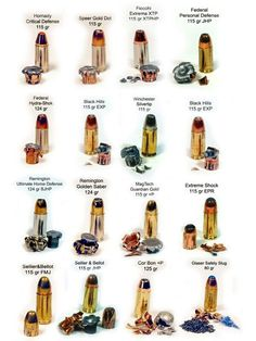 a study of guns and bullets forensic science Ann l davis of the virginia division of forensic science and the virginia institute  of  a barrel will produce individual markings in addition to a bullet's land and.