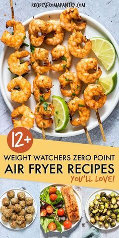 All of the weight watchers air fryer recipes included here are quick and SO easy to make, and even better, each and every one contains zero Weight Watchers Freestyle points. Thanks to the air fryer, eating healthy has never tasted so good! Source by Ww Recipes, Lunch Recipes, Seafood Recipes, Appetizer Recipes, Healthy Recipes, Appetizers, Chicken Recipes, Ninja Recipes, Recipes