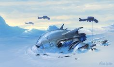 Arctic Shipwreck by Miggs69 on DeviantArt