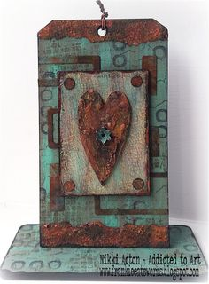 Rusty Upright by Nikki Acton