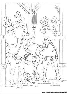 Encontre mais desenhos aqui: Desenhos do natal para colorir