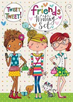 Rachel Ellen Friends Writing Set