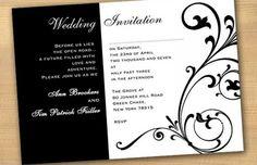 25 best wedding invitation templates images on pinterest wedding