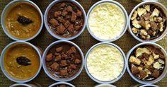 Ela compartilhou várias de suas receitas no grupo Eduk | Gastronomia, no Facebook. Receitas de Recheios