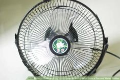 Image titled Make an Easy Homemade Air Conditioner from a Fan and Water Bottles Step 1