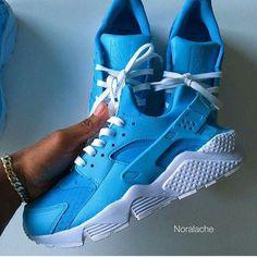 Sky Blue Nike Huarache @GottaLoveDesss