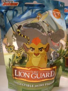 72c4130604 Disney THE LION GUARD   6 Blind Bags Figures Sealed New release  JustPlay  Disney Merchandise