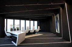 cool office room - Google Search Cool Office, Boards, Buero, Hall, Space, Flooring, Creative, Room, Futuristic Architecture