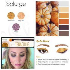 Younique splurge cream shadow, tenacious, maquillaje, ojos https://www.youniqueproducts.com/laurarluna/business #youniquebelleza